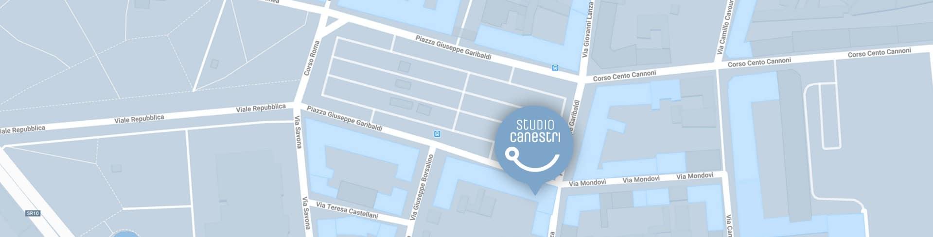 Mappa Studio Canestri